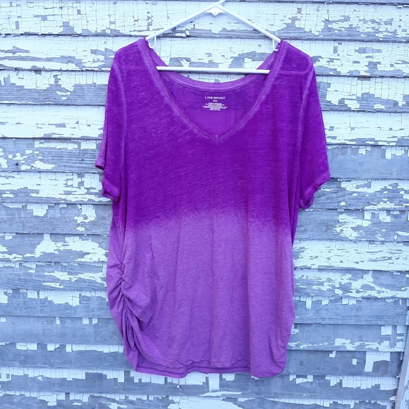 Lane bryant ombre sheer top size 22/24
